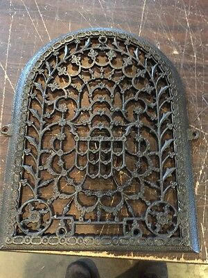 Ca 39 Antique Floral Design Arched Great Face Plate