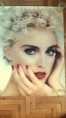 MADONNA WHO'S THAT GIRL ERA 1987 POSTER 93x68 *ROLLED*