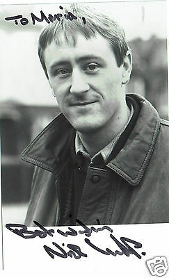 Nicholas Lyndhurst Actor Only Fools and Horses Hand Signed Photograph 5 x 3