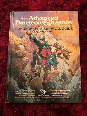 Dungeoneer's Survival Guide - Advanced Dungeons & Dragons- TSR -1986 1st Edition