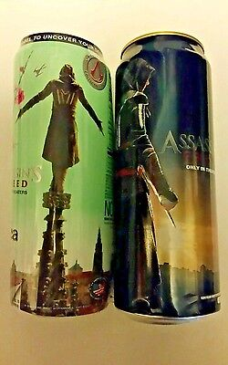 Limited Edition Collectible AriZona Tea Empty Can Assassins Creed Movie Promo