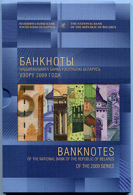 "Belarus Rare Set Banknotes 2009 ""my Country - Belarus"" 885 Rubles. Only 1000 Pcs"