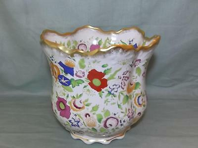 Hammersley Queen Anne Bone China Planter Plant Pot Holder A/F