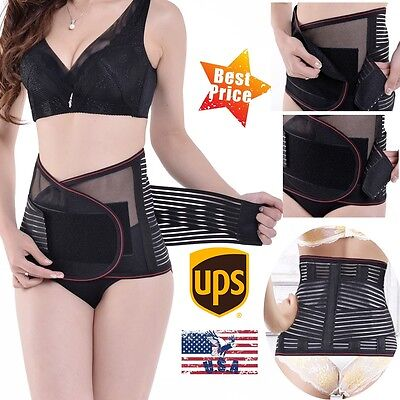 Postpartum Support Recovery Belly Waist Belt Shaperwear Strip Girdle Maternity