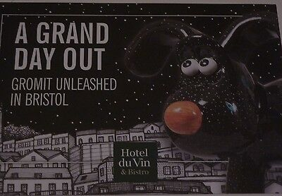 GROMIT UNLEASHED Wallace and Gromit HOTEL DU VIN flyer