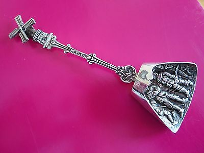 Vintage Moving Windmill Sterling Silver Denmark Spoon 1929