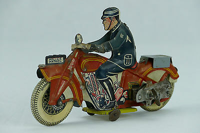 Mettoy Police Patrol Motorcycle 1930's