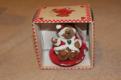 Vintage Kurt S. Adler Christmas Ornament Holly Bearies Looking for a Home