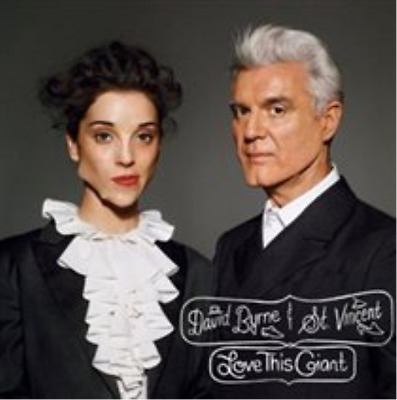 "David Byrne & St. Vincent-Love This Giant  (US IMPORT)  Vinyl / 12"" Album NEW"