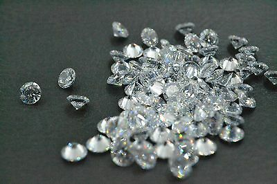 Cubic Zirconia  CZ  Brilliant Cut Rounds Loose Gemstone DIY for Jewelry 3.5mm