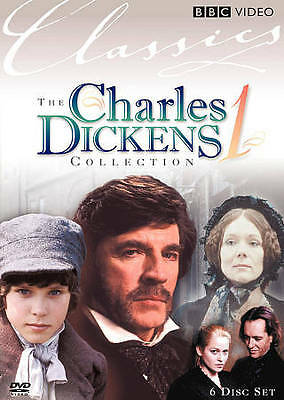 CHARLES DICKENS COLLECTION (DVD, 2009, 6-Disc Set, Collectors Edition) BRAND NEW