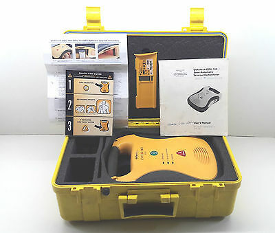 Defibtech LifeLine AED heart starter  Adults Pads & Battery with carry case
