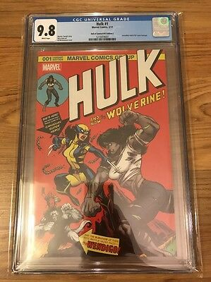 Hulk #1 by Ed McGuinness Variant Cover C (181 homage) X-23 CGC 9.8