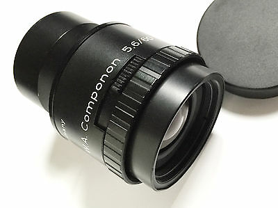 Schneider 60mm f5.6 WA Componon Repro/Enlarging Lens FLAWLESS GLASS!