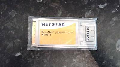 NETGEAR RANGEMAX WPN511 WiFi WIRELESS PCMCIA CARD LAPTOP NEW SEALED B G