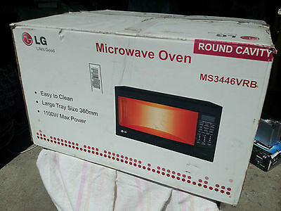 LG 34L Microwave Oven MS3446VRB (NEW: Never Used Ever!)