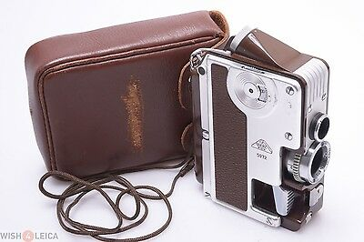 Goerz Minicord Iii Subminiature Camera W/ Case & Strap Works Perfectly