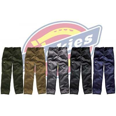DICKIES REDHAWK SUPER WORK TROUSERS | Action Pro Cargo Combat | Button Fastening