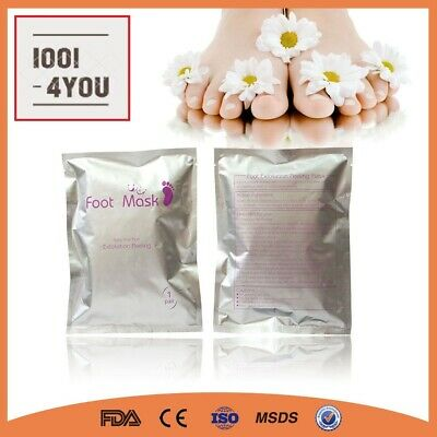 1, 2 or 3 Pair Exfoliating foot mask baby soft feet remove hard dead skin gel tr