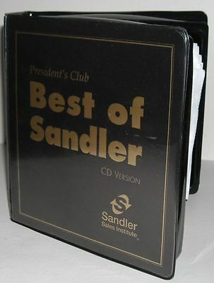 BEST OF SANDLER 16 CD  PRESIDENTS CLUB TRAINING $ SELL YOURSELF RICH In SALES $
