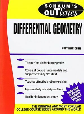 Schaum's Outline of Differential Geometry Copertina flessibile