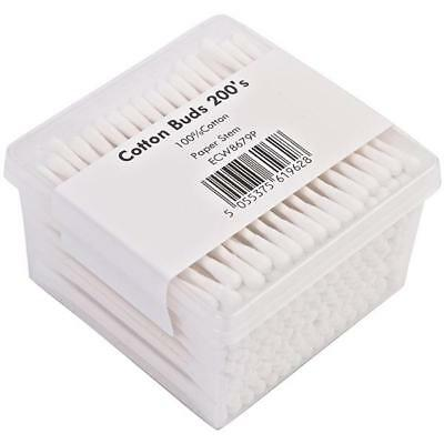24 x Cotton Buds Paper Stem - 200 per pack