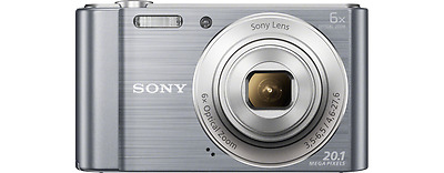 Sony W810 Compact Camera with 6x Optical Zoom, 20.1MP Image Sensor - New