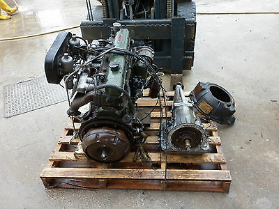 austin healey 3000 motore e cambio engine and gearbox MGC