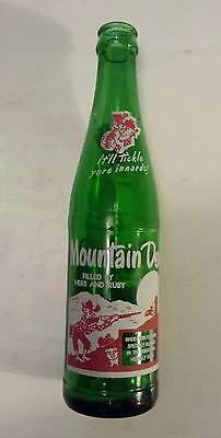 """Rare (Style#2-Both Sides) Canadian """"mountain Dew"""" 10 Oz  """"filled By Herb & Ruby"""""""