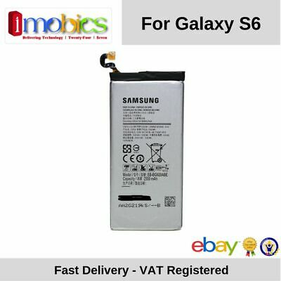 Replacement Battery for Samsung Galaxy S6 SM-G920F EB-BG920ABE 2550mAh