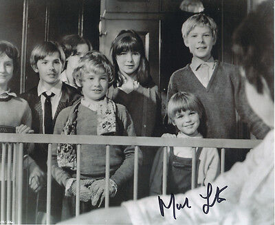 Mark Lester SIGNED photo - J629 - RARE!!!!!