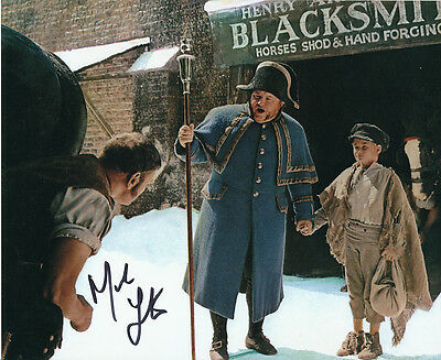 Mark Lester SIGNED photo - J654 - Oliver!
