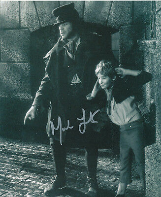 Mark Lester SIGNED photo - J661 - Oliver!