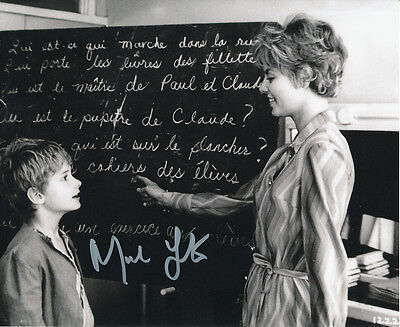 Mark Lester SIGNED photo - J675 - Oliver!