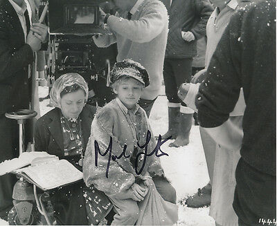 Mark Lester SIGNED photo - J688 - Oliver!