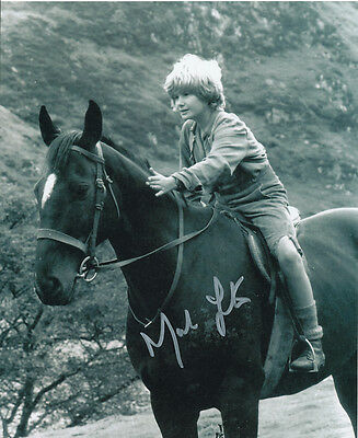 Mark Lester SIGNED photo - J699 - Black Beauty