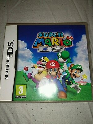Nintendo DS super mario 64 Ds box only