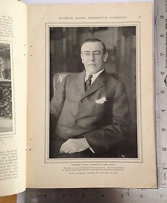 Munsey's Magazine October 1911 Article: Woodrow Wilson, Presidential Possibility
