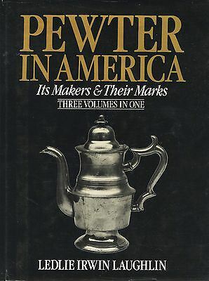American Pewter Makers Biogaphies Dates Marks Etc / Scarce Book (3 volumes in 1)