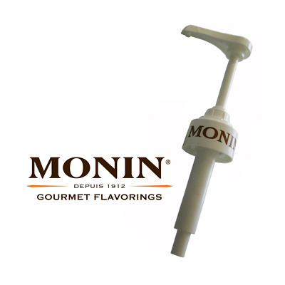 Monin Coffee Syrup Pump for 1 Litre Plastic Bottles - Multi Buy Discount
