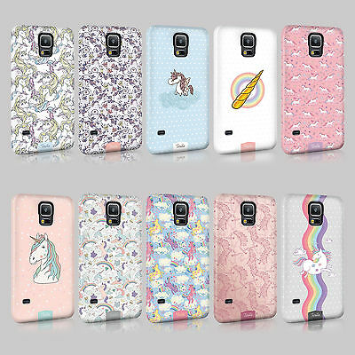 Tirita Unicorn Cute Rainbow Phone Case Hard Cover For Samsung