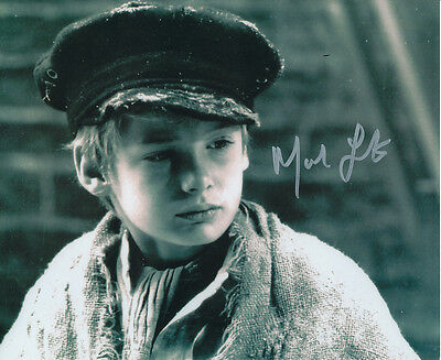 Mark Lester SIGNED photo - J704 - Oliver!
