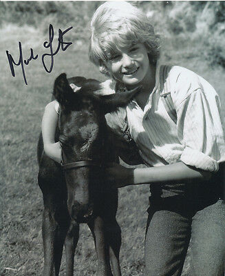 Mark Lester SIGNED photo - J712 - Black Beauty
