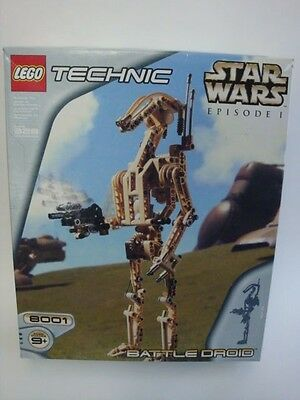 Star Wars Lego Technic Battle Droid # 8001 New Factory Sealed