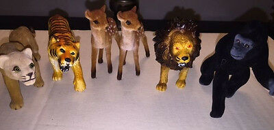 Group of 6 Different G Gauge Zoo Animals
