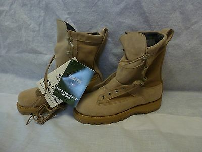 ADDISON GORE-TEX Temperate COLD/WET BOOTS 5.5 R New Tan Combat Type II