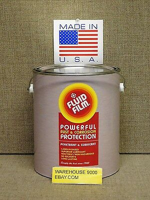 1 GALLON Fluid Film NAS Undercoat Rustproofing Made in USA Enviornment safe