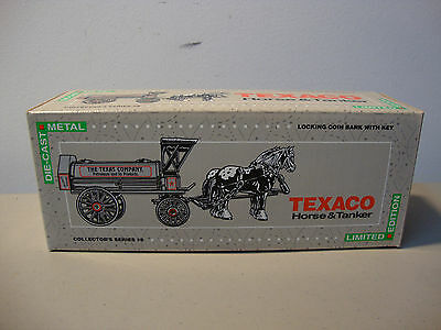 1991 Texaco Collector's Horse & Tanker Die-Cast Metal *fast Shipping* L@@k