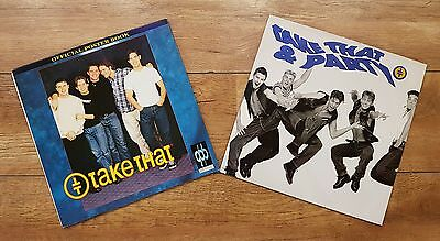 Take That! That & Party LP Album Vinyl Record With Official Poster Book RARE!