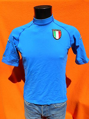 ITALIA Jersey Maillot Maglia 2002 2003 Home Kappa True Vintage Made in Italy Cup